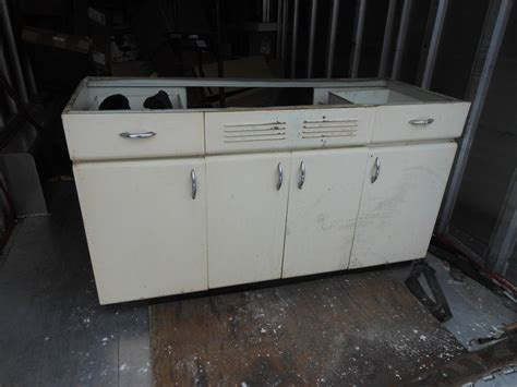 Vintage Kitchen Cabinets For Sale Harrison Made In Chicago Vintage All Steel Kitchen Cabinet Retro Kitchen Ebay