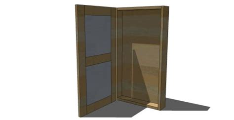 diy furniture plans  build  tall jewelry armoire