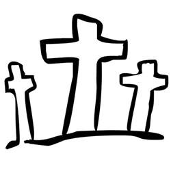 black and white cross clip art hairstyle