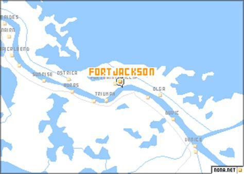 jackson louisiana map fort jackson united states usa map nona net