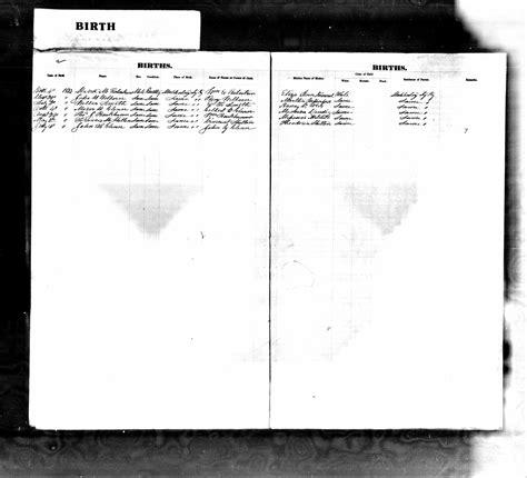 Buchanan County Missouri Birth Records Birth Records 1853
