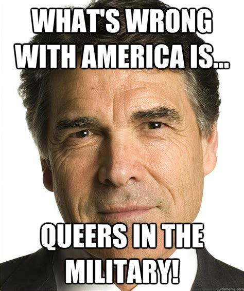 Gay Army Meme - what s wrong with america is queers in the military