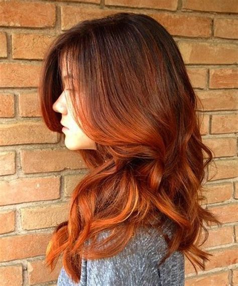 sultry layers fabulous sultry red long layered hairstyles for women