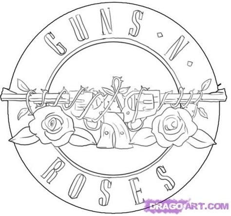 guns and roses coloring page 113 best guns n roses images on pinterest guns and roses