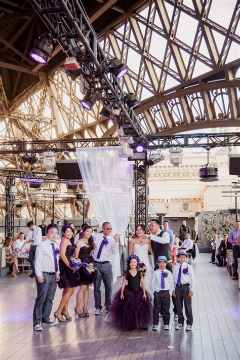 Chic Chateau Nightclub Wedding at Paris Las Vegas from