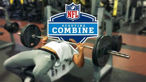 bench press nfl combine je teste mon max rep au bench press 225 lb clb009 les