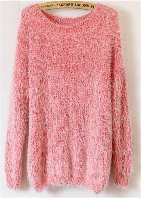 fluffy knit sweater fluffy sweater fashion