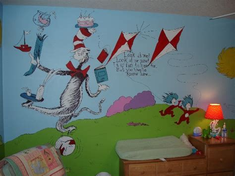 dr seuss wall mural dr seuss wall to wall storybook mural traditional