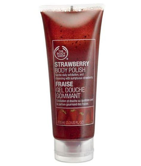 Scrub The Shop the shop strawberry scrub 200 ml buy the shop strawberry scrub 200 ml at