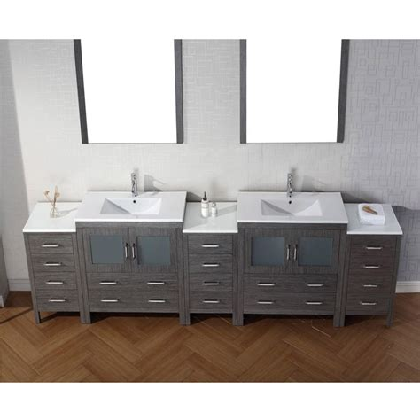 double bathroom sink countertop virtu usa 126 inch dior double sink vanities sink bathroom