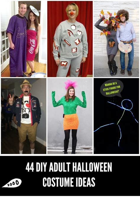 comfortable halloween costumes for adults 19 easy diy adult costumes diy adult halloween costumes