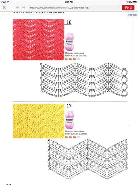 zig zag crochet pattern chart 116 best images about zig zag on pinterest zig zag