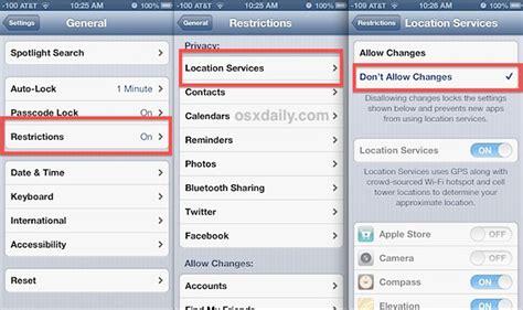 improve find  iphone  locking  location services