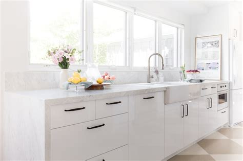 white lacquer kitchen cabinets lacquered kitchen cabinets transitional kitchen