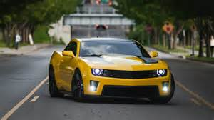 Chevrolet Yellow Camaro Yellow Chevrolet Camaro Ss On The Wallpapers And