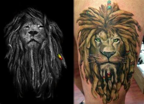 imagenes de leones rastafari significado de los tatuajes de le 243 n uncomo