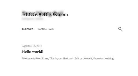 membuat website dengan wordpress lengkap cara lengkap membuat website dengan wordpress blogger goblo