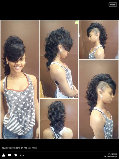 Easy Braided Hairstyles With Weave by Mohawk Creative Style Weave Braids Mohawks