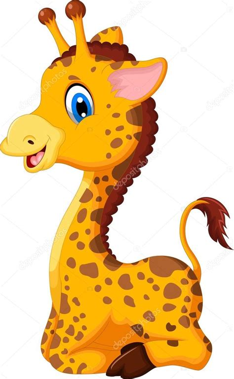 imagenes de jirafas bebes animados dibujos animados de jirafa lindo beb 233 para usted dise 241 o