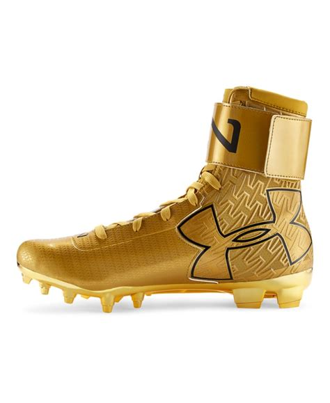 gold football shoes s armour c1n mc gold football cleats ebay
