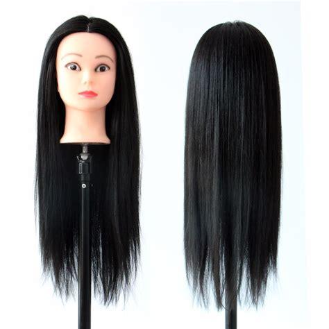 mannequin heads with long hair black hair hair mannequin heads training head styling long
