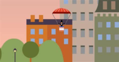 interactive doodle i interactive doodle celebrates parachute jump