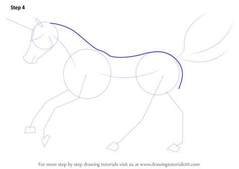 unicorn step by step learn how to draw a unicorn unicorns step by step