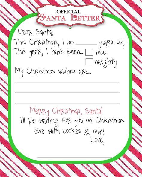 manic monday freebie santa letter christmas lettering