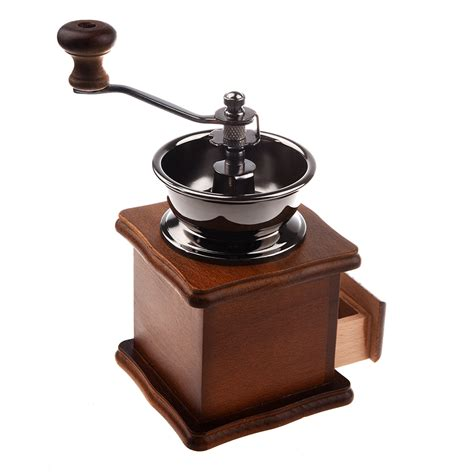 Harga Coffee Grinder Manual by Manual Coffee Grinder Wood Metal Mill Spice Mill