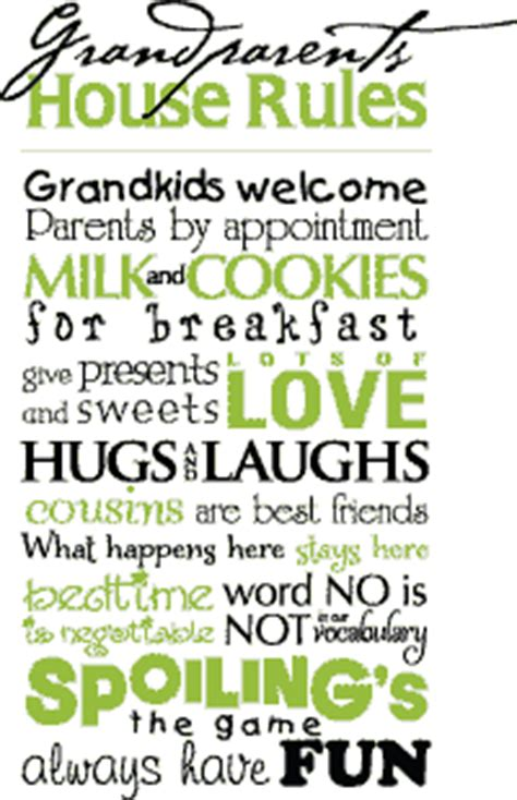 grandparents house rules grandparents quotes pictures and grandparents quotes images 25