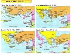 Mapas de viajes misioneros del apostol pablo image gallery photogyps