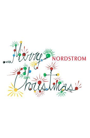 nordstrom christmas cards nordstrom merry e gift card merry 100 easy and always appreciated