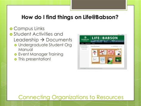 Babson Mba Application Login by Babson College Advising