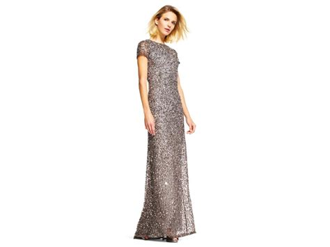 New From Style It And Fashion Scoops From Wwd by Papell Scoop Back Sequin Gown Style 09187460