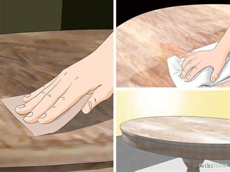 ways  whitewash furniture wikihow