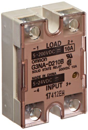 Realy Omron G3na D210b Dc5 24 By Omz omron g3na d210b dc5 24 solid state relay yellow indicator photocoupler isolation 10 a