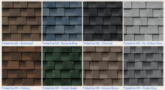 timberline shingles color chart timberline vs landmark shingles compare colors and styles