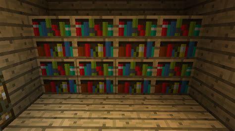 image gallery minecraft bookshelf