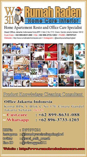 Laundry Kasur Lipat cuci bed rumah apartement specialist jasa cuci
