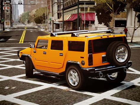 hummer h2 limited edition vehicules pour gta iv sur gta