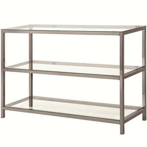 sofa table with shelves 72022 sofa table with 2 shelves
