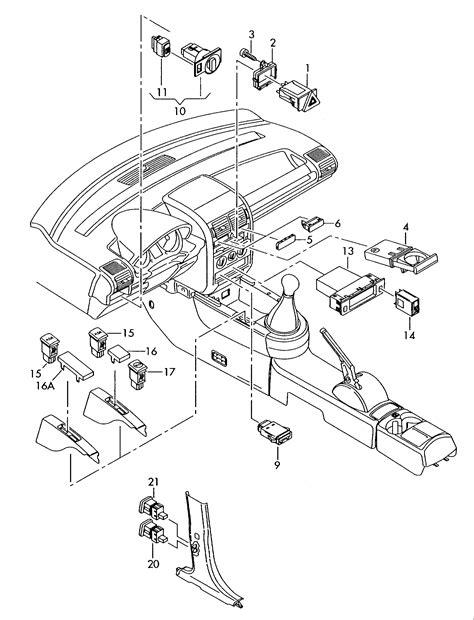 Motorradversicherung A2 by Audi A2 2000 2005 Schalter In Schalttafel Schalter
