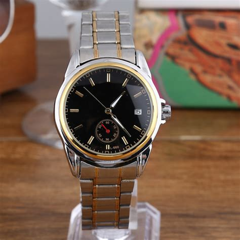 mechanical automatic self wind clock stainless