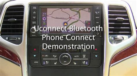 Jeep Uconnect Phone Not Available Uconnect Bluetooth Phone System Demonstration