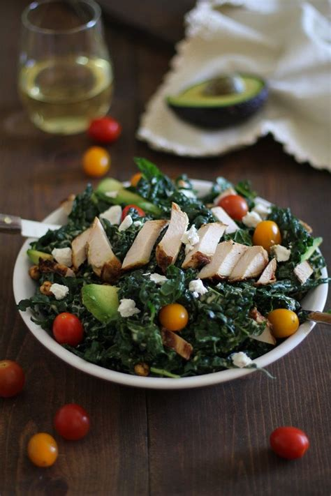 Http Www Theroastedroot Net Ultimate Detox Salad by Grilled Chicken Caesar Kale Salad With Chipotle Roasted