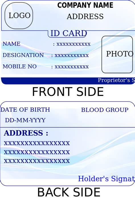 printable id card template file id card template svg wikimedia commons