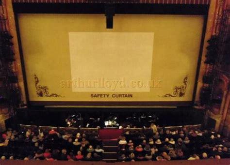 safety curtain theatre the bristol hippodrome theatre st augustine s parade bristol