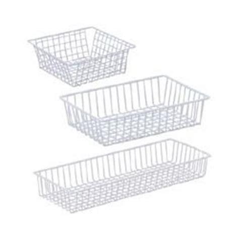wire mesh kitchen drawer organizers wire mesh drawer organizer set of 2 white