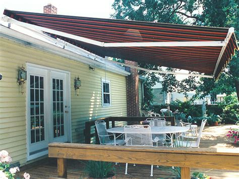Deck Awning Options Sunstar 174 Retractable Awnings Retractable Deck Patio
