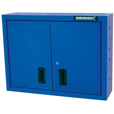 Bunnings Shelf Liner by Kincrome Series One 2 Door Wall Tool Cabinet Blue Sku